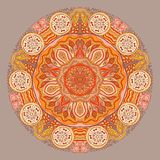 Decorative Vintage Design Element, illustration with lacy frame Stock Photography