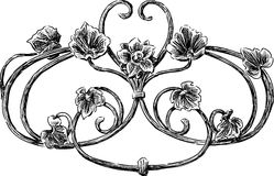 Decorative vintage element Royalty Free Stock Photography