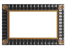 Decorative vintage empty frame isolated Stock Image