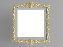 Decorative vintage frame Stock Photography