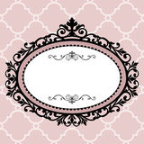 Decorative vintage frame Stock Images