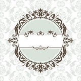 Decorative vintage frame Royalty Free Stock Photos