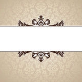 Decorative vintage frame Royalty Free Stock Photography