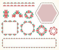 Decorative vintage frame (set 5) Stock Photography
