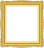 Decorative vintage frames and borders set,photo frame with corner line. Corner silhouette, wood frame  design is patterned Thai style Stock Image