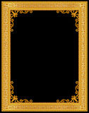 Decorative vintage frames and borders set,photo frame with corner line Royalty Free Stock Photos