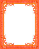 Decorative vintage frames and borders set,photo frame with corner line Royalty Free Stock Photography