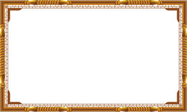 Decorative vintage frames and borders set,photo frame with corner line Stock Images
