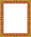 Decorative vintage frames and borders set,photo frame with corner line. Corner silhouette, wood frame  design is patterned Thai style Stock Photography