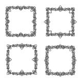Decorative vintage frames Royalty Free Stock Photography