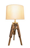 Decorative vintage lamp shades. Out of wood. Decorative vintage lamp shades. Out of wood on a white background Royalty Free Stock Images