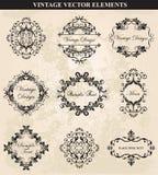 Decorative Vintage Ornament Stock Images
