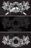 Decorative Vintage Ornate Banner Royalty Free Stock Images