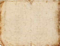 Decorative vintage paper Stock Image