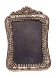 Decorative vintage silver picture frame Royalty Free Stock Photo