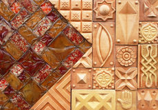 Decorative wall Stock Photography