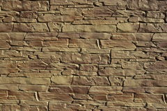 Decorative wall as background Royalty Free Stock Photos