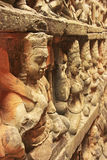 Decorative wall carving, Terrace of the Leper King Stock Photography