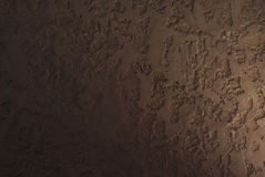 Decorative wall covering. Decorative covering of the walls of the room under the style of the cave Stock Photography