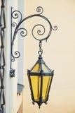 Decorative wall street lamp Stock Photo