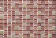 Decorative wall tile transparent tinted. Background Stock Image
