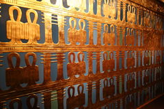 Decorative wall. Very beautiful golden decorative wall Stock Images