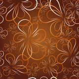 Decorative wallpaper with butterfly Stock Photo