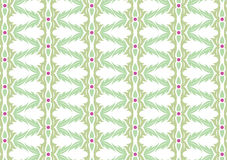 Decorative wallpaper design Stock Images