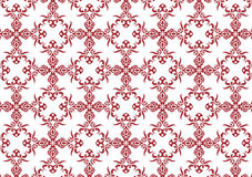 Decorative wallpaper design Royalty Free Stock Images