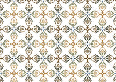 Decorative wallpaper design Stock Photography