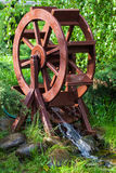 Decorative water wheel Royalty Free Stock Photography