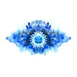 Decorative watercolor background Royalty Free Stock Photo