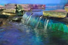 Decorative waterfall Royalty Free Stock Photos