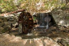 Decorative waterwheel Stock Photos