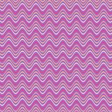 Abstract wavy striped pattern in purple, pink, tan colors stock image