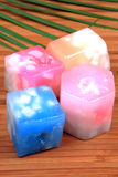 Decorative wax candles Stock Image