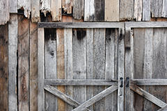 Decorative Weathered Wood. Stock Photography