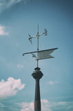 Decorative weathervane Royalty Free Stock Image