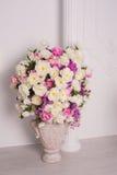 Decorative wedding bouquet of fresh beautiful flowers Royalty Free Stock Photography