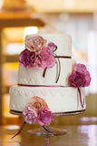 Decorative wedding cake Royalty Free Stock Photography