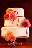 Decorative wedding cake Stock Photo