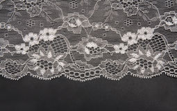 Decorative white lace Royalty Free Stock Photography