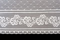 Decorative white lace stock images
