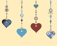 Decorative Wind Chimes Stock Images