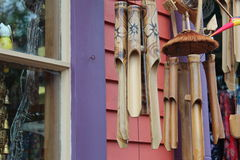 Decorative windchimes Royalty Free Stock Photo