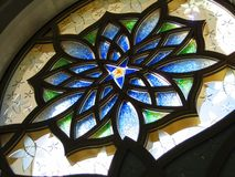 Vitrage. Stained glass. royalty free stock image