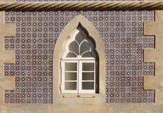 Decorative Window, Pena Palace Sintra Royalty Free Stock Image
