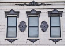 Decorative Window Treatment Stock Photography