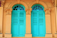 Decorative windows Stock Photo