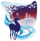 Decorative winter background Stock Photography